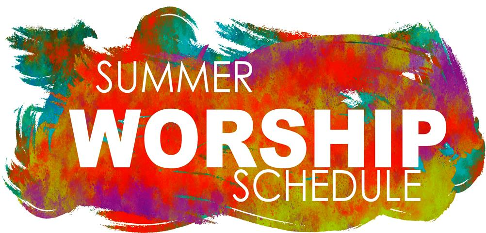 Sumer Worship Schedule