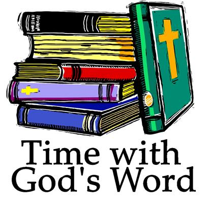 Time With God's Word> 